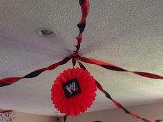 WWE DIY Decorations
