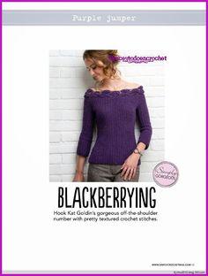 Spectacular design in purple... Espectacular diseño en color púrpura!