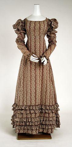 Dress  American, ca. 1818