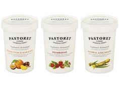 Yoghourts Pastoret 500g #packaging #yogurt