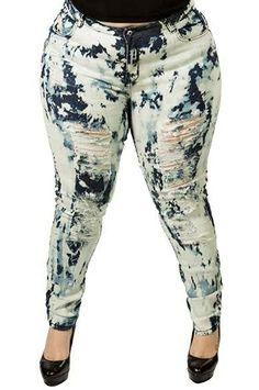 Bleach Tye Dye Jeans