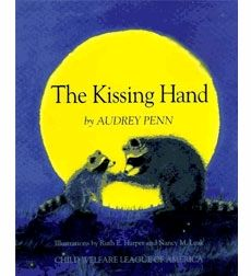 A young raccoon faces his first separation from his mother and begs her to let him stay at home. His mother gives him a magic secret called the Kissing Hand to take with him to school.