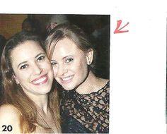 Em detalhe chefs Juliana Amorim (Ecully) e Luiza Hoffmann, na Revista Prazeres da Mesa.