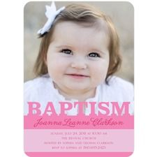 Baptism Invitations & Baptism & Christening Announcements by Tiny Prints