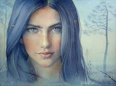 Luthien by kimberly80.deviantart.com on @DeviantArt