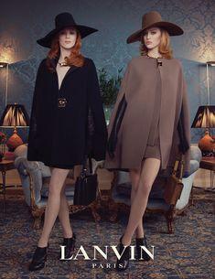 Lanvin F/W 2011 Ad Campaign