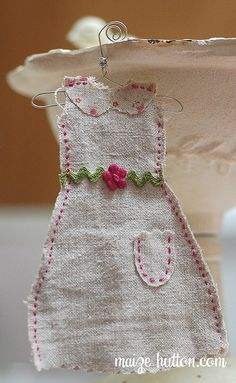 Cute little embroidered dress
