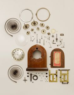 Old Wind-Up Clock, by Todd McLellan - 20x200.com (from $24) @Robert Gray I love this photograph