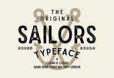 Ad: Sailors by amtypes. on Sailors is a clean and clear sans serif typeface with 5 styles fonts. Sailors perfect for branding, labeling, vintage designing, and more. Modern Sans Serif Fonts, Sans Serif Typeface, Modern Fonts, Cool Fonts, New Fonts, Draw Logo, Logo Psd, Font Packs