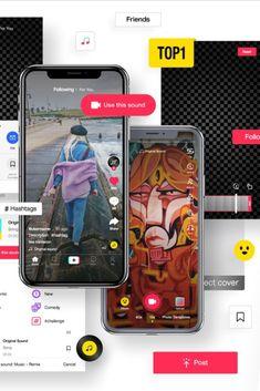Tik Tok Mockup Mockup Design Vector Design Social Media Template