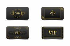 Business Card Design, Business Cards, Flip Clock, Different, Design Bundles, Vip, Concept, Gold, Collection