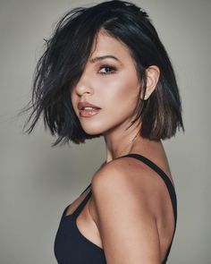 Best Pixie And Bob Short Haircuts For Women Hairstyle Samples Popular Short Hairstyles, Trending Hairstyles, Bob Hairstyles, Bob Short, Short Bob Haircuts, Short Hair Cuts For Women, Short Hair Styles, Blonde Roots, Corte Bob