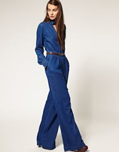 d6813bf7ac1 The Boss Chic Files   Item of the Day  Jean Jumpsuit
