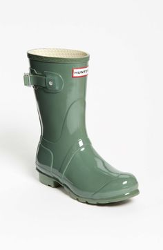 Hunter 'Original Short' Gloss Rain Boot