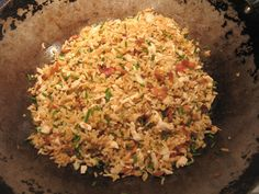 Use Up Leftovers with Loaded Fried Rice - Brown Thumb Mama - sounds delicious to eat with Orange Chicken