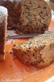 Food for thought: Κέικ καρότου χωρίς αυγά - Νηστίσιμο και υγιεινό!! Sweet Recipes, Cake Recipes, Vegan Recipes, Pastry Cake, Vegan Cake, Banana Bread, Sweets, Snacks, Easy