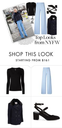 """Top looks from NYFW 2016"" by moonlightprinces on Polyvore featuring Majestic Filatures, Christopher Kane, G.H. Bass & Co., Rebecca Minkoff, women's clothing, women, female, woman, misses and juniors"