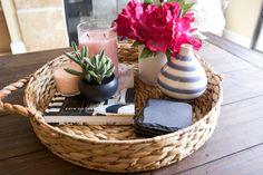 Coffee Table Styling & Decor Ideas | Michelle Got Married