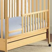 Found it at Wayfair - Dropside Toddler Conversion Rail Set