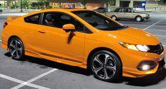 2014 Honda Civic SI Soupe Orange