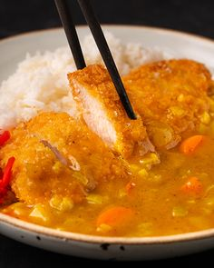 Marion's Kitchen is packed with simple and delicious Asian recipes and food ideas. Japanese Chicken, Japanese Curry, Chicken Breast Fillet, Chicken Cutlets, Katsu Curry Recipes, Asian Recipes, Ethnic Recipes, Japanese Recipes, Chicken Katsu Curry