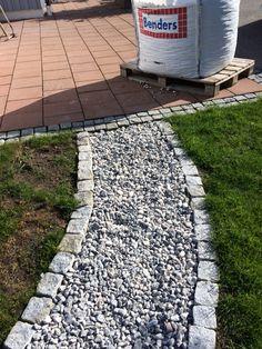 En trädgårdsgång