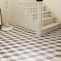 Hackney Optical Grey Feature Floor