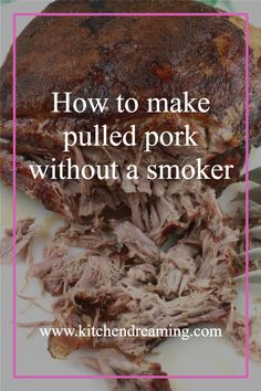 Who knew you can make a pulled pork without a smoker or grill? Oven Pulled Pork is easy and tastes amazing. Juicy, succulent, and fall-off-the-bone-tender.