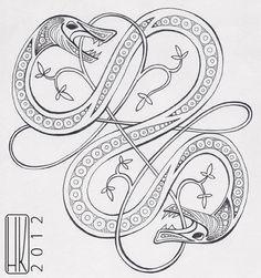 Viking knot by Paivatar.deviantart.com on @DeviantArt