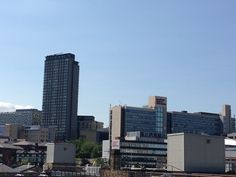 View of Sheffield Hallam Campus