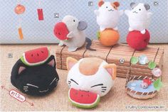 Nemuneko toys and mascots #cute