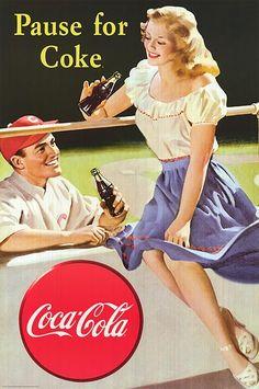 Movies & Coca-cola | coke poster product id mpw 50583 description coca cola print rolled ...