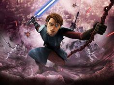 Anakin and the Clone Wars