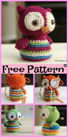 Mesmerizing Crochet an Amigurumi Rabbit Ideas. Lovely Crochet an Amigurumi Rabbit Ideas. Crochet Giraffe Pattern, Owl Crochet Patterns, Crochet Unicorn, Amigurumi Patterns, Amigurumi Doll, Cute Crochet, Crochet Crafts, Crochet Dolls, Crochet Baby