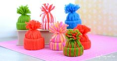 If you are looking for the cutest DIY Christmas ornament ever you just have to give these mini yarn hats ornaments a go. Super easy to make and they look amazing! Once you get started with these you just won't be able to stop. Not to mention they look fancy as doll hats too! We've …