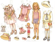 Paper Doll is a portrait of Theresa Borelli's mother who loved paper dolls.