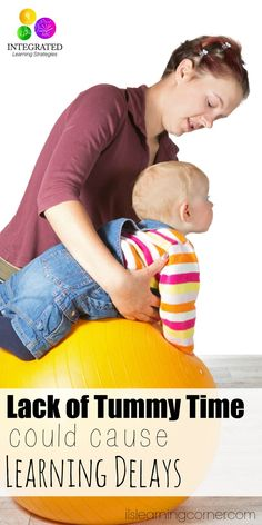 Tummy Time: Learning Delays that could Result from Lack of Tummy Time | ilslearningcorner.com