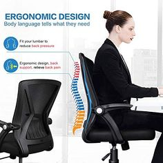 10 Best Most Comfortable Office Chair For Long Hours High quality affordable modern stylish office chair for multiple purposes of uses, durable and reliable best office chair for back pain and you can easily sit on chair for whole day you do not feel any pain in back or stress because we add hygienically proven home office chair. Most Comfortable Office Chair, Best Office Chair, Home Office Chairs, The Office, Stylish Office, Lower Back Support, Ergonomic Chair, Black Mesh, Back Pain