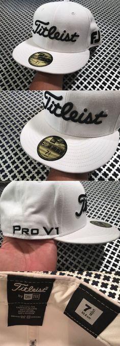 ... Golf Visors and Hats 158937 Titleist Fj Pro V1 Logo New Era White Green  Sport Mesh ... 5bb1e0398ca