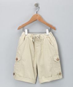 Convertible Cargo Shorts from Kite Kids on #zulily