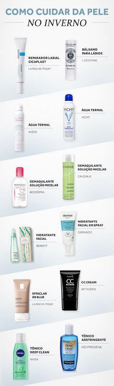 Dermatologista e beauty experts listam os cuidados indispensáveis com a pele na estação mais fria do ano