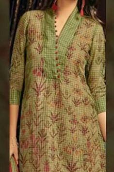 Best 12 I want to buy – SkillOfKing. Silk Kurti Designs, Salwar Neck Designs, Churidar Designs, Neck Designs For Suits, Kurta Neck Design, Neckline Designs, Sleeves Designs For Dresses, Dress Neck Designs, Kurta Designs Women