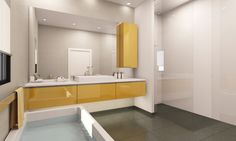 3D Bathroom Visualizations. Bathroom Lighting, 3d, Mirror, Architecture, Furniture, Home Decor, Bathroom Light Fittings, Arquitetura, Bathroom Vanity Lighting