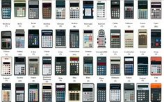 This is true, I have a thing for calculators. Maybe it's from being in sales for so long, but I have them everywhere!