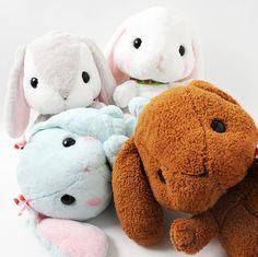 Pote Usa Loppy Cuddly Plushies (Big)