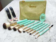 Les pinceaux Elsamakeup - Gold Mint Kit - Mllewondermel