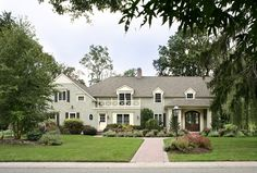 Country Club Drive, Long Island - traditional - exterior - new york - Sussan Lari Architect PC