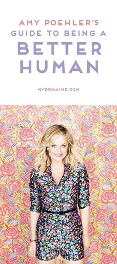 Amy Poehler knows a thing or two about the power of kindness #livehealthy