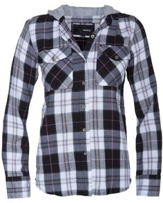 Hurley - Womens Wilson Woven Shirt, Size: X-Large, Color: Black 05 $49.45 #Hurley #Tops