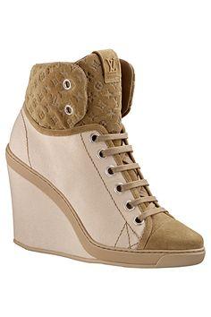 Short Boots, Cruise, Louis Vuitton, Wedges, Sneakers, Shoes, Women, Fashion, Vintage Ladies